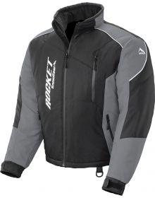 Rocket Snow Gear Storm XC Youth Snowmobile Jacket Black/Gray