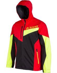 Klim Transition Hooded Youth Jacket Hi Vis