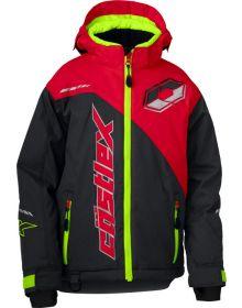 Castle X Stance G2 Youth Jacket Charcoal/Red/Hi-Vis