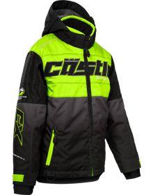 Castle X Strike Youth Snowmobile Jacket Hi-Vis/Black