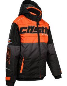 Castle X Strike Youth Snowmobile Orange/Black