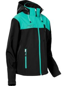 Castle X Barrier Womens Jacket Mint/Black