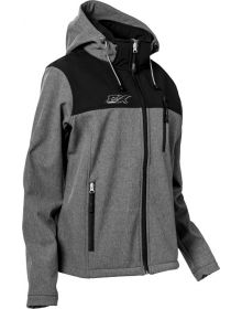 Castle X Barrier Womens Jacket Heather Gray/Black