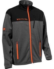 Castle X Fusion Mid-Layer Jacket Orange/Heather Charcoal