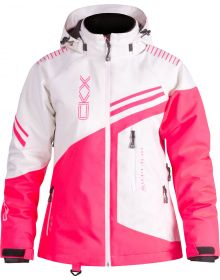 CKX Reach 3in1 Womens Snowmobile Jacket Pink/White