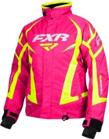 FXR Team Womens Jacket Fuchsia/Hi-Vis