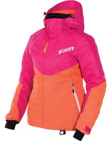 FXR Rush Womens Jacket Fuchsia/Orange
