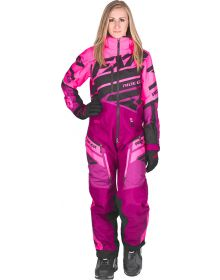 FXR Boost Lite Womens Monosuit Elec Pink/Wineberry