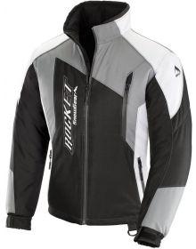 Rocket Snow Gear Storm XC Womens Snowmobile Jacket Black/Gray