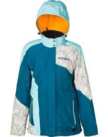 Klim 2019 Allure Womens Jacket Blue