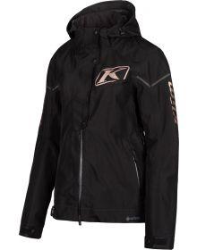Klim 2021 Alpine Womens Jacket Black/Rose Gold