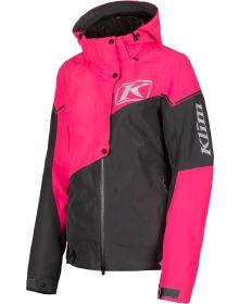 Klim 2021 Alpine Womens Jacket Asphalt/Knockout Pink