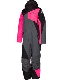 Klim Vailslide Womens Monosuit Knockout Pink/Black