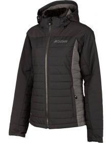 Klim Waverly Womens Snowmobile Jacket Black/Asphalt