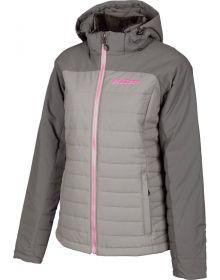 Klim Waverly Womens Snowmobile Jacket Asphalt/Castlerock Gray