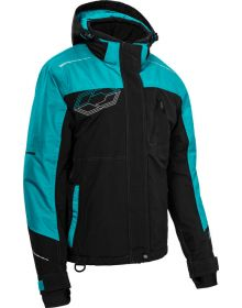 Castle X Phase Womens Snowmobile Jacket Black/Turquoise