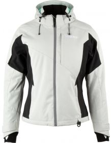 509 Range Womens Insulated Jacket - Light Gray with Teal