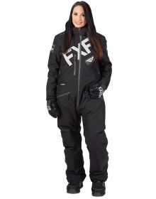 FXR Squadron Womens Monosuit Black/Grey
