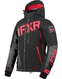 FXR Ranger Womens Jacket Black/Charcoal/Coral