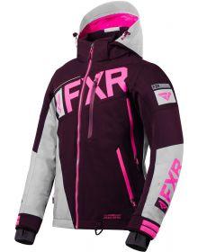 FXR Ranger Womens Jacket Plum/Grey/Electric Pink