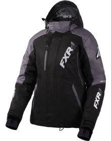 FXR Vertical Pro Womens Jacket Black/Mid Grey Heather