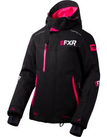 FXR Renegade FX Womens Jacket Black/Fuchsia