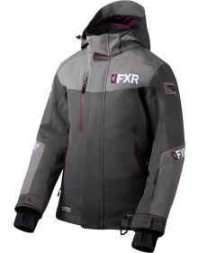FXR Renegade FX Womens Jacket Charcoal/Grey/Plum