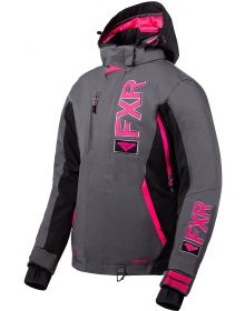 FXR Evo FX Womens Jacket Charcoal/Black/Fuchsia