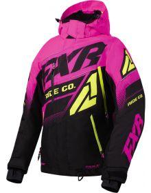 FXR Boost FX Womens Jacket Black/Electric Pink/Hi Vis