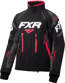 FXR Adrenaline X Womens Jacket Black/Charcoal/Coral
