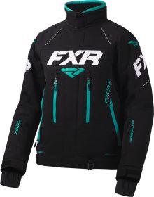 FXR Adrenaline X Womens Jacket Black/Mint