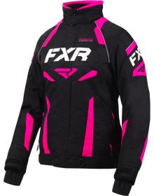 FXR Velocity Womens Jacket Black/Fuchsia