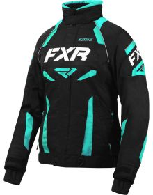 FXR Velocity Womens Jacket Black/Mint