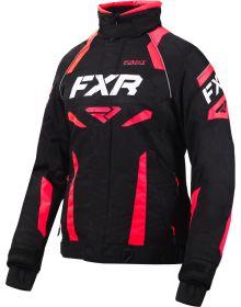 FXR Velocity Womens Jacket Black/Coral