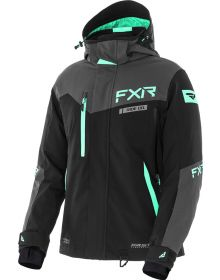 FXR Renegade FX F.A.S.T. Womens Jacket Back/Charcoal/Mint