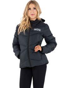 FXR Elevation Synthetic Down Womens Jacket Black/Grey