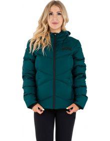 FXR Elevation Synthetic Down Womens Jacket Ocean/Black