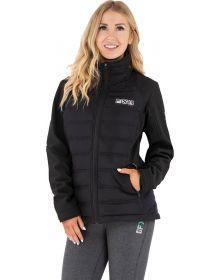FXR Podium Hybrid Synthetic Down Womens Jacket Black/Pink