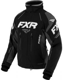 FXR Adrenaline X Womens Jacket Black/Charcoal/White