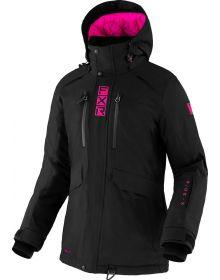 FXR 2022 Aerial Womens Snowmobile Jacket Black/E Pink