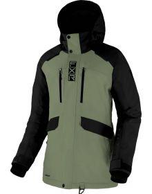 FXR 2022 Aerial Womens Snowmobile Jacket Sage/Black