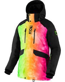 FXR 2022 Aerial Womens Snowmobile Jacket Sherbert Ink/Black