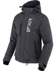 FXR 2022 Fresh Womens Snowmobile Jacket Char Heather/White