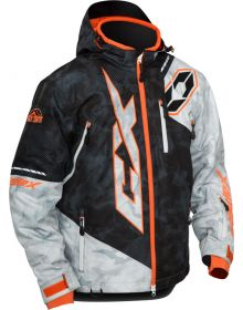 Castle X Stance Jacket Alpha Black/Alpha Gray/Orange