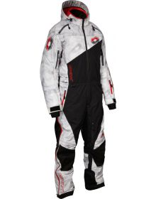 Castle X Freedom Shell Monosuit Alpha Gray/Red