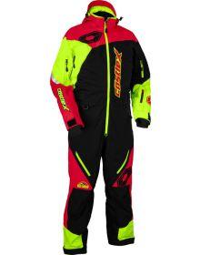 Castle X Freedom G2 Mono Suit Black/Red/Hi-Vis