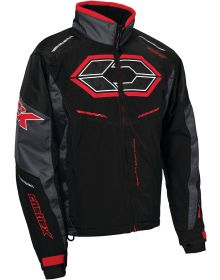 Castle X Blade G4 Jacket Black/Charcoal/Red