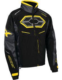 Castle X Blade G4 Jacket Black/Charcoal/Yellow