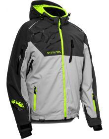 Castle X Flex Snowmobile Jacket Charcoal/Silver/Hi-Vis