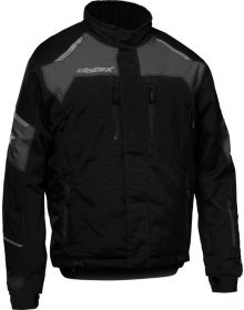 Castle X Polar Snowmobile Jacket Black/Charcoal